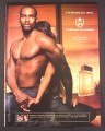 Magazine Ad for Phat Farm Atman Fragrance For Men, Sexy Man & Woman, 2004