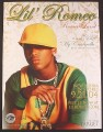 Magazine Ad for Lil Romeo, Romeo Land Album, 2004