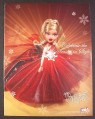 Magazine Ad for Bratz Doll, Celebrate The Season In Style, Toys, 2004