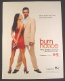 Magazine Ad for Burn Notice TV Show Premiere, Gabrielle Anwar, Jeffrey Donovan, 2007