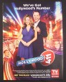 Magazine Ad for Hollywood 411 TV Show, Madison Michele, Chris Harrison, 2008