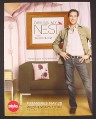 Magazine Ad for Dress My Nest TV Show, Thom Filicia, 2008