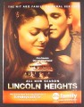 Magazine Ad for Lincoln Heights TV Show, Nicki Micheaux, Russell Hornsby, 2007