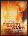 Magazine Ad for Dancing With The Stars TV Show, Monday Night Fever, 2007