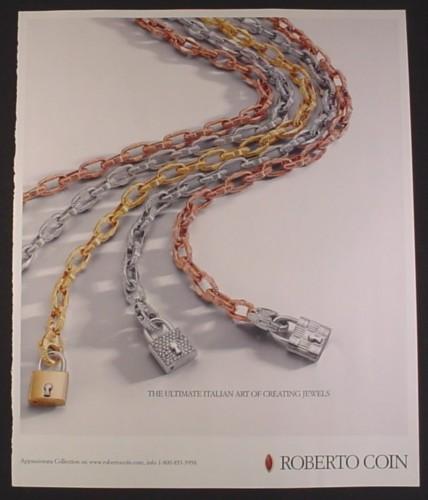 Magazine Ad for Roberto Coin Appassionata Collection ...