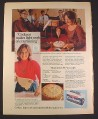 Magazine Ad for Cookeen for Baking, Lard or Butter, British, 1970, 10 by 12 1/2