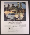 Magazine Ad for Classic Tiffany Custom Car, Fiberfab International, 1988, 9 by 11