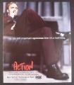 Magazine Ad for Action TV Show, Jay Mohr, Illeana Douglas, Buddy Hackett, 1999, 9 by 10 3/4