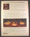 Magazine Ad for Yamaha Electric Guitars, 3 Models, SG-2000, Bass BB-1200, 1979, 10 1/4 by 13 1/4