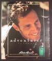 Magazine Ad for Eddie Bauer Adventurer Cologne, Fragrance for Men, 1994, 10 1/4 by 13 1/4