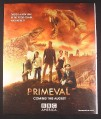 Magazine Ad for Primeval TV Show, Hannah Spearritt, Andrew Lee Potts, 2008, 10 by 12