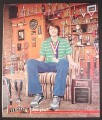 Magazine Ad for M&M, M&M's, Mazing, Are You, Guy with Tons of Trophies, 2004, 10 by 12