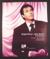 Magazine Ad for Bryan Ferry, Platinum Collection Album, 2004, 10 by 12