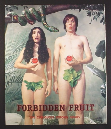 Adam And Eve Magazine Magazine ad For Altoids Adam