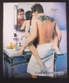 Magazine Ad for Candie's Fragrances for Men, Mark McGrath, Woman on Bathroom Counter 2001