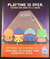 Magazine Ad for South Park The 4th Grade Years, TV Show, 2000, 10 by 12