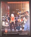 Magazine Ad for Coca-Cola Coke, Christina Aguilera Video Shoot, Pop The Top, 2001, 10 by 12