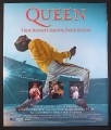 Magazine Ad for Queen Live At Wembley, Pay Per View TV Show, 2003, 10 by 12