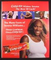 Magazine Ad for Close Up Toothpaste, Serena Williams, Celebrity, 2003, 10 by 12