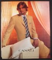 Magazine Ad for Canali Men's Suits, 2003, 10 by 12