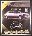 Magazine Ad for Rolls-Royce Phantom Car Motorcar, Rolls Royce, 2003, 10 by 12