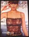 Magazine Ad for Cosabella Lingerie Made in Italy, 2002, 10 by 12