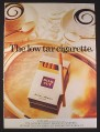 Magazine Ad for Benson & Hedges Silk Cut Cigarettes, British, 1978, 9 by 12 1/2