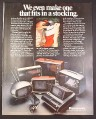 Magazine Ad for Panasonic Portable TV's Televisions, 8 Models, 1972, 10 1/4 by 13 1/4