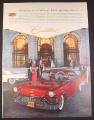 Magazine Ad for Cadillac, Front & Side View Pan American Union Building 1957 10 3/8 by 13 7/8