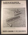 Magazine Ad for Massey Ferguson MF 36 Wide Level Disc Harrow, Massey-Ferguson, 1968