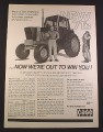 Magazine Ad for Case 1170 Tractor, 1971, 10 1/4 by 14 1/8