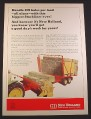 Magazine Ad for New Holland Stackliner 1044 Bale Wagon, Farm Implement 1967 10 1/4 by 14 1/8
