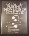 Magazine Ad for Caravelle The Romans Watches, 4 Models, Ben Hur Ben His 1967 10 1/2 by 13 5/8