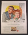 Magazine Ad for RCA Victor New Vista TV Television, Hazel TV Show, 1964, 10 1/2 by 13 3/4