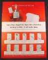 Magazine Ad for Zippo Lighters, 10 Models, Golfer Sterling Slim Gold, 1963, 10 1/2 by 13 5/8