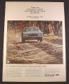 Magazine Ad for Chevrolet Corvair 500 Sport Coupe, Blue, Front View, 1967, 10 1/2 by 13 5/8