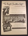 Magazine Ad for Charm Records Hour of Charm Christmas Carols Album, 1948, 10 3/8 by 13 7/8