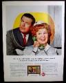Magazine Ad for RCA Sienna TV, Hazel Television Show, Italian Provincial Lowboy, 1964