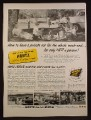 Magazine Ad for Hertz Rent A Car System, Rent-A-Car, 1953