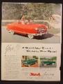 Magazine Ad for Nash Rambler Car, Styled by Pinin Farina, Convertible, Station Wagon , 1953