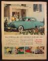 Magazine Ad for 1950 Studebaker Champion 4 Door Sedan, 1950