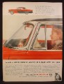 Magazine Ad for 1955 Plymouth Belvedere Sport Coupe, Wrap Around Windshield, 1954