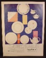 Magazine Ad for Royal Doulton China, 6 Different Patterns, 1960