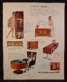 Magazine Ad for Electrohome, Circa 703 & Sound Chair, 701C 705, Stereo Hi Fi, 1968