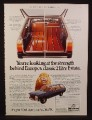 Magazine Ad for Peugeot 504 Estate Wagon Car, Great Britain, 1979