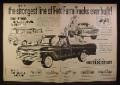 Magazine Ad for Ford Farm Trucks, F-500 Medium Duty, Econoline Window Van F-100, 1960