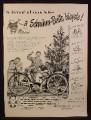 Magazine Ad for Schwinn Bicycle, Schwinn-Built, Bike, Christmas, 1948