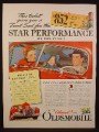 Magazine Ad for Oldsmobile Car, 852 Dollars 1941