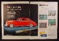 Magazine Ad for Packard Clipper Car, A Star is Born, 1941, This is a Double Wide Ad with a 3rd