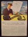 Magazine Ad for Kodak, Created V Mail for Communication, WWII, 1942